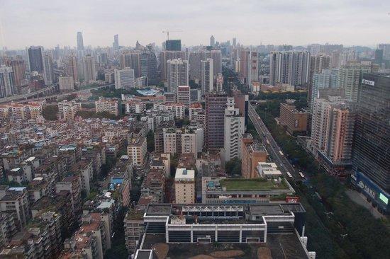 Sheraton Guangzhou Hotel : View from corner room 3220