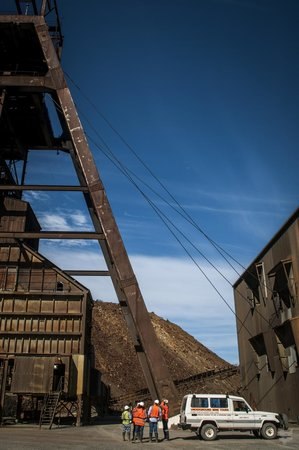 Queenstown Heritage Tours: Prince Lyell shaft headframe