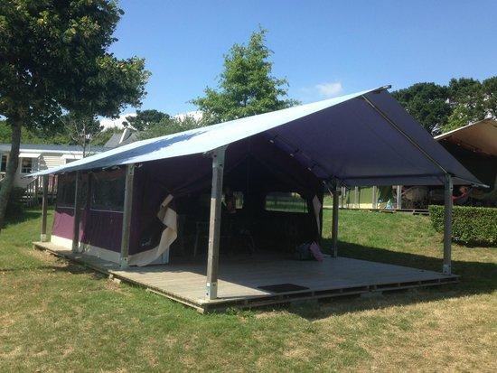 Flower Camping le Conleau : Freeflower tent