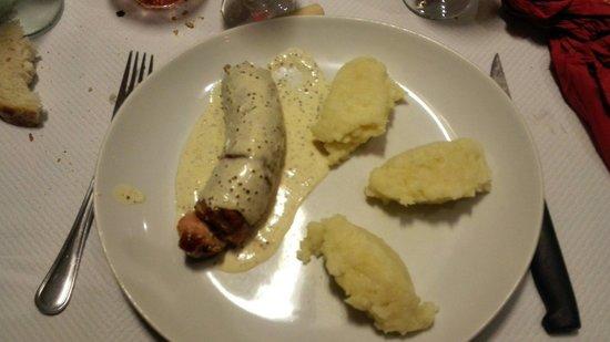 Brasserie Le Caveau : Andouillette