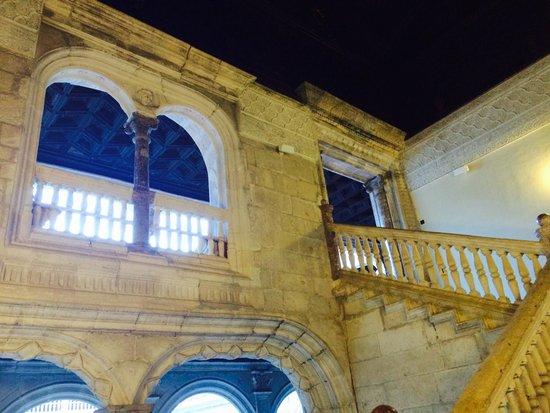 Plaza Mayor: Interior, escadaria