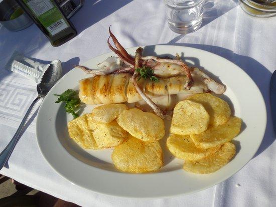 Saga Fish Restaurant: calamars frits
