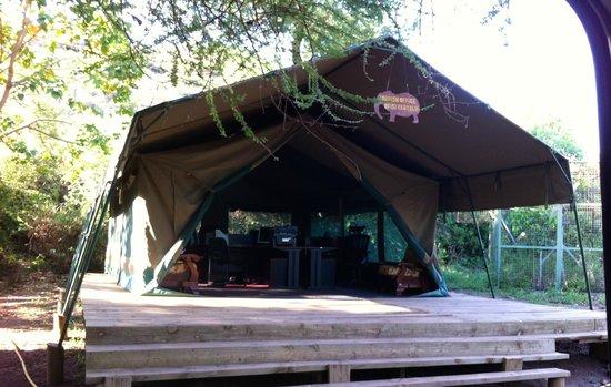 Migunga Tented Camp: My room (room number 8)