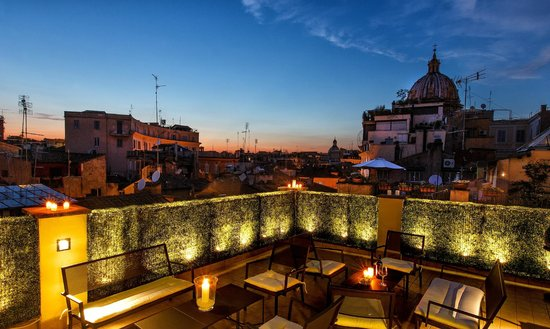 Hotel Smeraldo: Roof Top Terrace