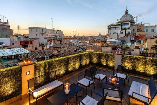 Sehr Schones Hotel Im Herzen Von Rom Hotel Smeraldo Rom