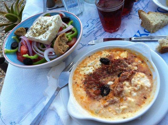 Gio-Ma: Greek salad e Feta al forno! deliriooooooo!