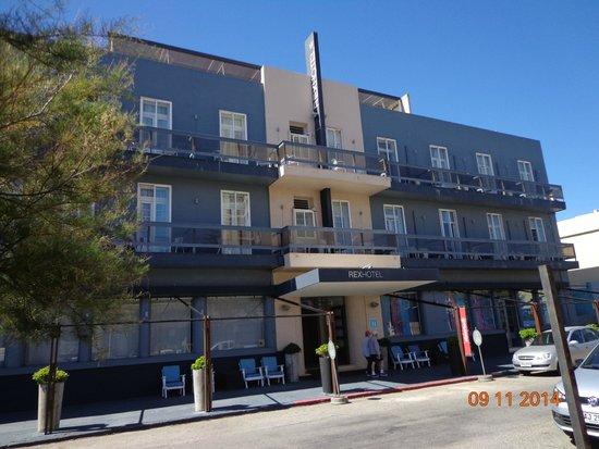 Hotel Rex: Fachada del hotel