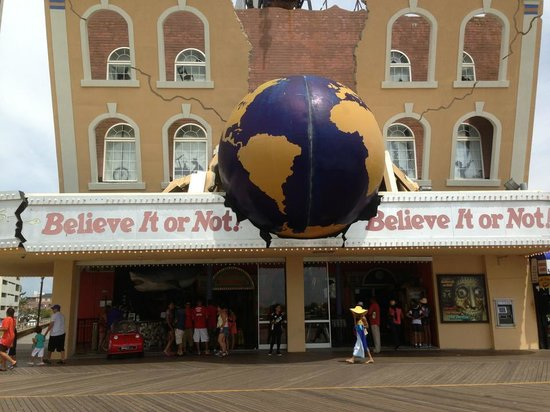 Ripley's Believe It or Not: front view