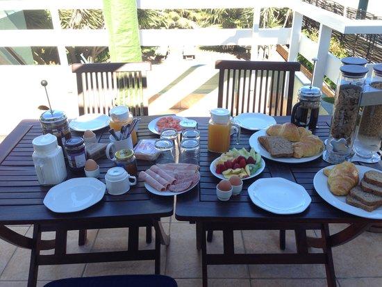Secret Garden Guesthouse : Frühstück