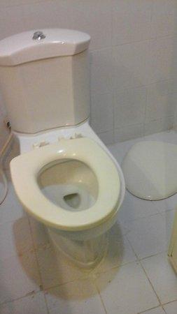 Khurana Inn: broken toilet