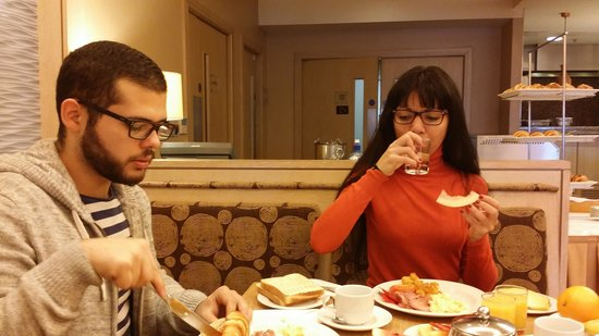 Pillo Hotel Ashbourne: the service and the food was great