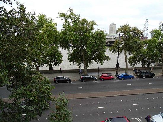 Somerset House: Vista para Waterloo Bridge