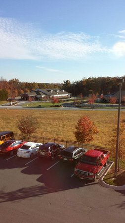 Country Inn & Suites by Radisson, Concord (Kannapolis), NC: Beautiful fall colors 11/14