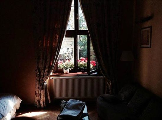 Cracowdays Apartments: Flowers on the window, so cute