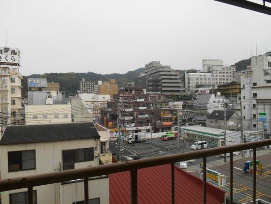 Dogo Grand Hotel: 温泉街の眺め