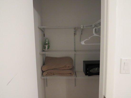 Princess Ann Hotel: подсобка- шкаф для одежды