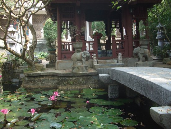 Thanh Chuong Viet Palace: Water lilies