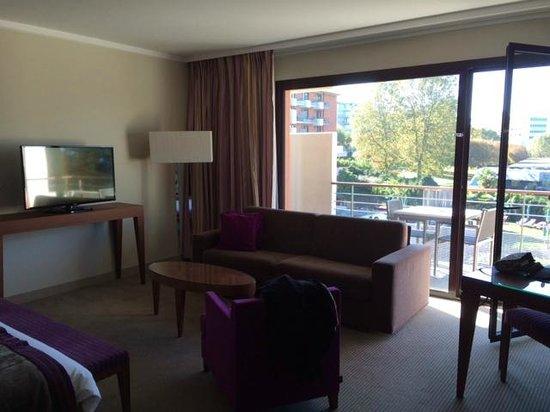 Hilton Evian-les-Bains: King suite junior