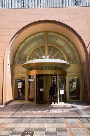 Namba Oriental Hotel: Hotel Entrance
