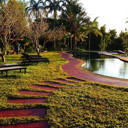 Naga Hill Resort : November sunset