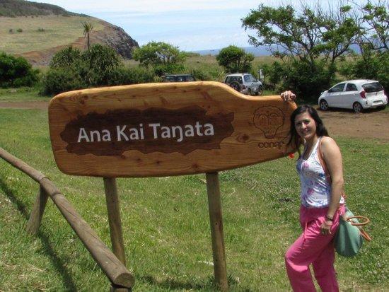 Ana Kai Tangata: Entrada