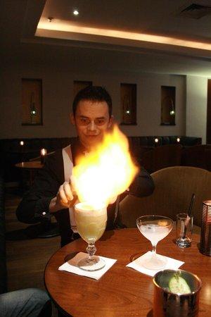 Be Bop Lobby Bar : Tomas is an Alchemist!