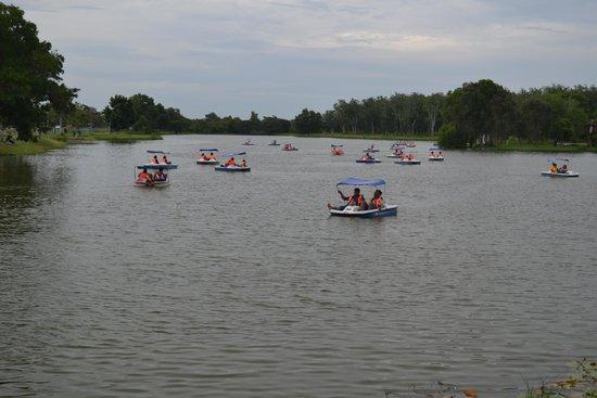 Jitra, มาเลเซีย: Boating activity