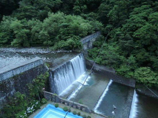 Hotel Okuyumoto: 滝のながめ