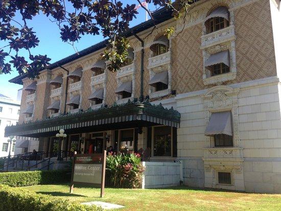 Fordyce Bathhouse (Vistor Center): Outside Fordyce
