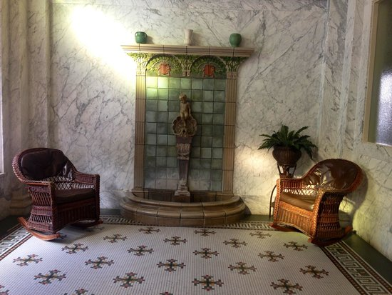 Fordyce Bathhouse (Vistor Center): In the waiting area