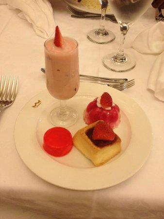 Dinner at St. Ann Restaurant
