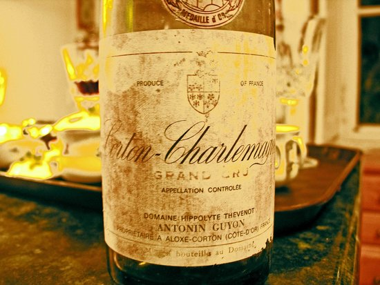 Chateau de la Barre : Great wines in the wine list