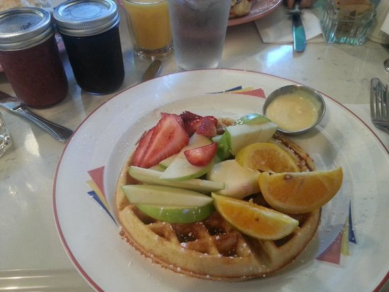 Pig & a Jelly Jar: The Pick-and-Fix waffle, definitely a personal favorite