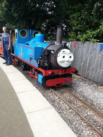 Kirklees Light Railway: Thomas tank engine