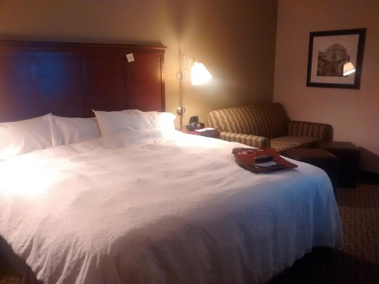 Hampton Inn Austin-North at I-35 and Hwy 183: King Suite - Post Sleep
