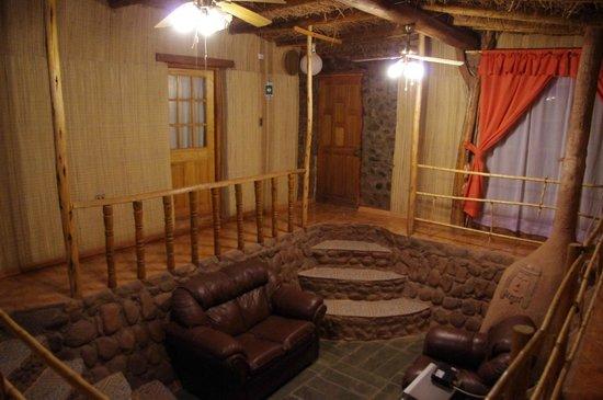 Rey Lagarto Hostel: Interior del Hostal
