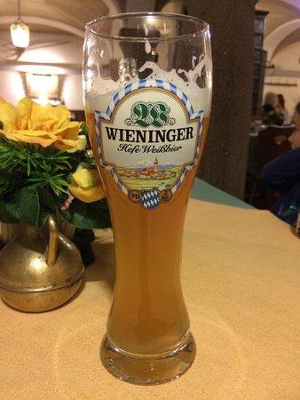 Wieninger Keller: Weißbier vom Fass