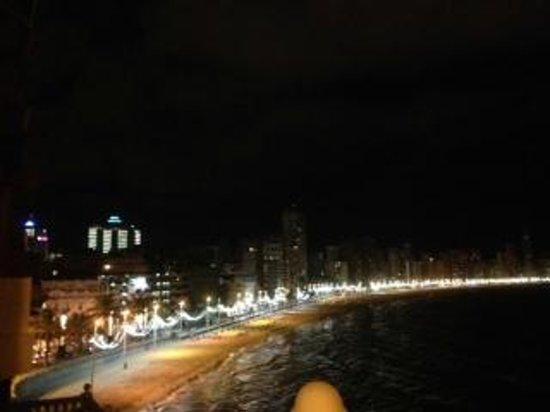 RH Hotel Canfali : Balcony view at night