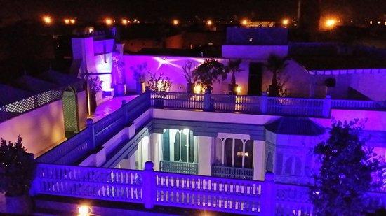 Riad le Perroquet Bleu : Terrasse superbe