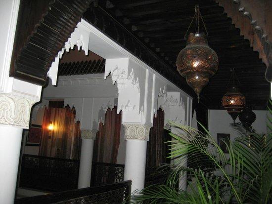 Riad Calista : Area outside the rooms