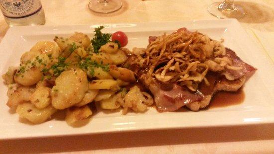 Ristorante Pizzeria Bruthendler : Holzfällersteak
