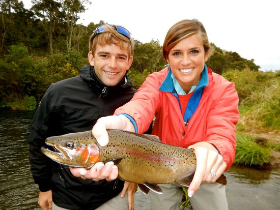 Huka Lodge: Day trip of fly fishing!