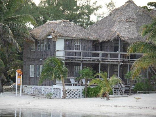Exotic Caye Beach Resort: Our unit bottom floor