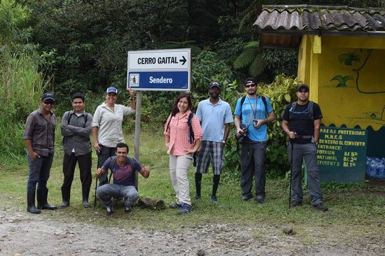 Gaital National Park: Group before going up