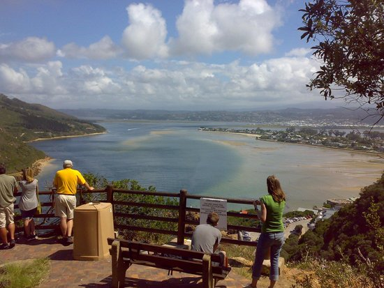 "Guinea Fowl Lodge: Knysna Lookout point at ""The Heads"""