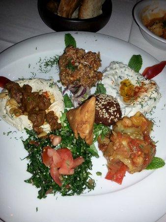 Haz Restaurant Plantation Place: Mixed Meze