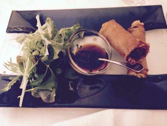 Hotel restaurant Fabry : Croustade de pied de porc