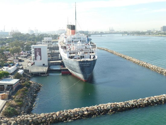 View Of Queen Mary From The Carnival Miracle Picture Of The Queen Mary Long Beach Tripadvisor