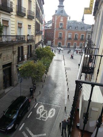 Hostal Santa Cruz : Вид с балкона