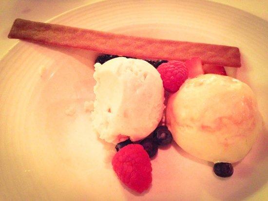 Second Empire Restaurant : Homemade ice cream and sorbet